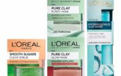 L'Oreal Skincare Night Routine