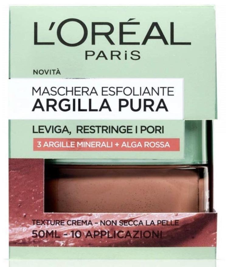 Skincare-L'Oréal-mask-argilla