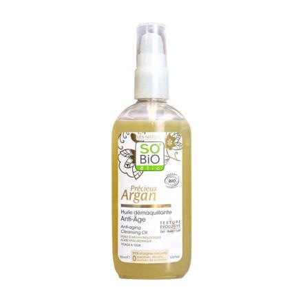 So Bio Etic Précieux Argan – Olio struccante Anti age