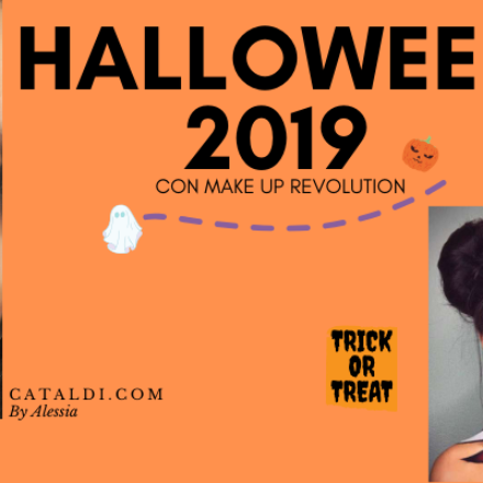 HALLOWEEN 2019 CON MAKE UP REVOLUTION