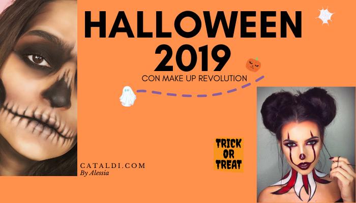HALLOWEEN 2019 CON MAKE UP REVOLUTION
