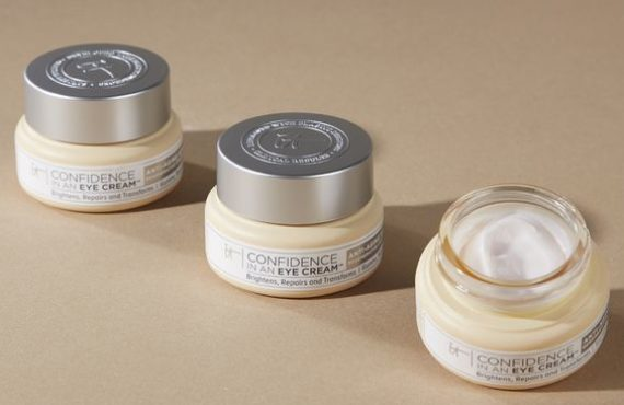 IT COSMETICS:  CONFIDENCE IN AN EYE CREAM