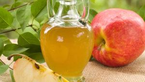 Aceto di mele per la cura dei denti