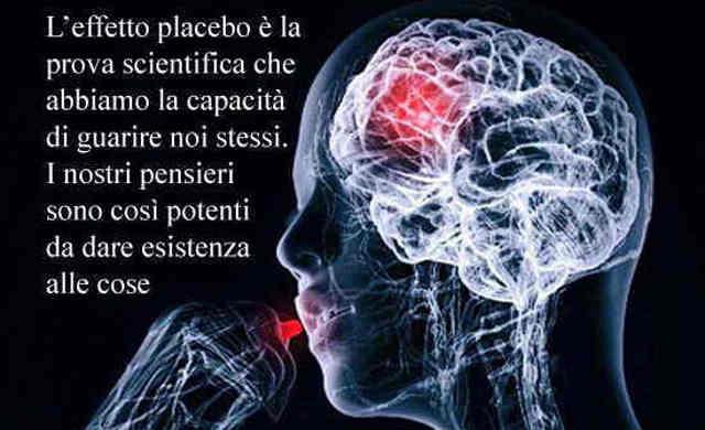 Effetto placebo e guarigione.