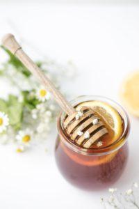 Immagine del miele per lo scrub alle labbra