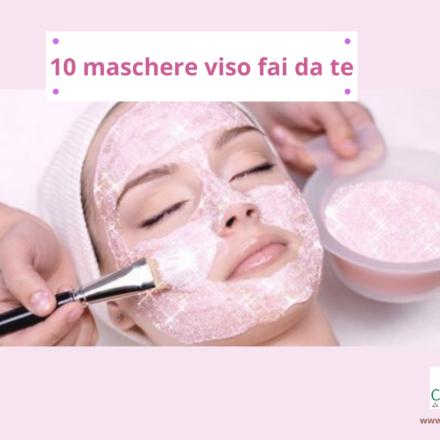 10 maschere viso fai da te naturali ed efficaci