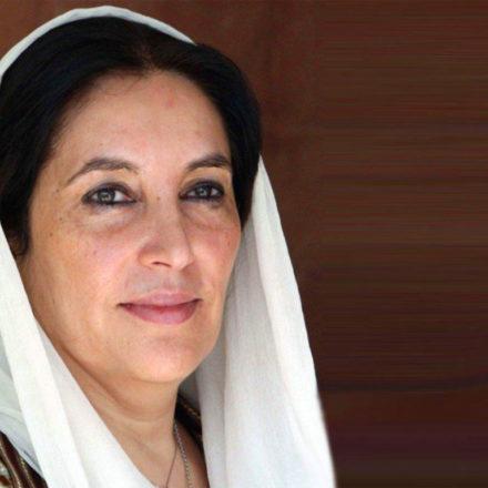 Benazir Bhutto, la donna con il velo del potere
